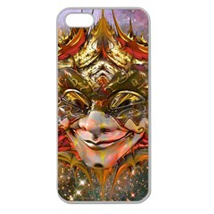 Star Clown Apple Seamless Iphone 5 Case (clear) by icarusismartdesigns