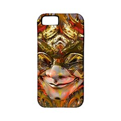 Star Clown Apple Iphone 5 Classic Hardshell Case (pc+silicone) by icarusismartdesigns