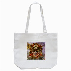 Star Clown Tote Bag (white) by icarusismartdesigns