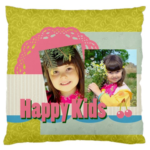 Kids By Kids   Large Flano Cushion Case (one Side)   F06jyjtw7laa   Www Artscow Com Front