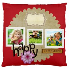 Kids By Kids   Large Flano Cushion Case (two Sides)   4m4tpehwfavb   Www Artscow Com Back