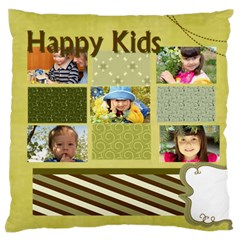 Kids By Kids   Large Flano Cushion Case (two Sides)   Ob33dpgt995u   Www Artscow Com Front