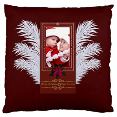 Xmas By Debe Lee   Large Flano Cushion Case (two Sides)   M9s6jyt291hc   Www Artscow Com Back