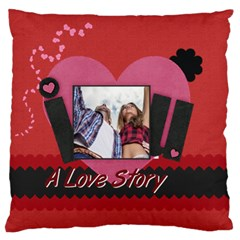Love By Ki Ki   Large Flano Cushion Case (two Sides)   K7ouaoz43hyi   Www Artscow Com Back