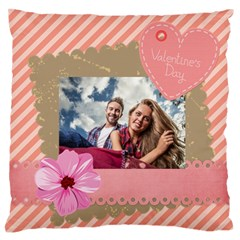Love By Ki Ki   Large Flano Cushion Case (two Sides)   8ti3a9t7te97   Www Artscow Com Front