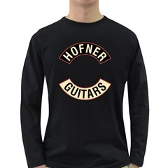 Hofner Guitars Musician  Men s Long Sleeve T Shirt (dark Colored) by goodmusic