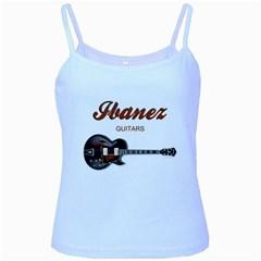 Ibanez Electric Guitars Baby Blue Spaghetti Tank by goodmusic