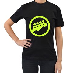 Bass  4 Keys Lemon Sign Women s T Shirt (black) by goodmusic