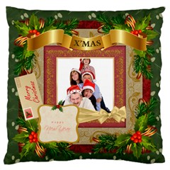 Xmas By Betty   Large Flano Cushion Case (two Sides)   E66y9f4ihlvu   Www Artscow Com Back