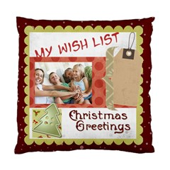 Xmas By Joy   Standard Cushion Case (two Sides)   Rziw2yfw8byp   Www Artscow Com Front