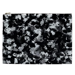 Shades Of Gray  And Black Oils #1979 Cosmetic Bag (xxl) by Khoncepts