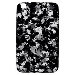 Shades Of Gray  And Black Oils #1979 Samsung Galaxy Tab 3 (8 ) T3100 Hardshell Case  by Khoncepts
