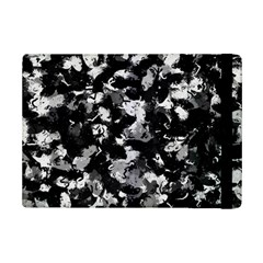 Shades Of Gray  And Black Oils #1979 Apple Ipad Mini 2 Flip Case by Khoncepts