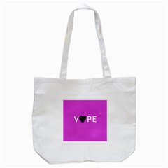 Vape Heart Tote Bag (white) by OCDesignss
