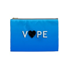 Vape Heart  Cosmetic Bag (medium) by OCDesignss