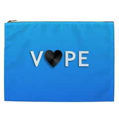 Vape Heart  Cosmetic Bag (xxl) by OCDesignss