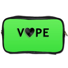 Vape Heart Travel Toiletry Bag (two Sides) by OCDesignss