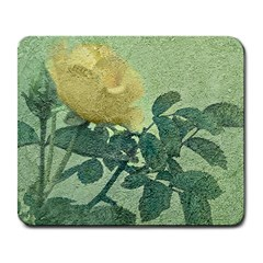 Yellow Rose Vintage Style  Large Mouse Pad (rectangle) by dflcprints