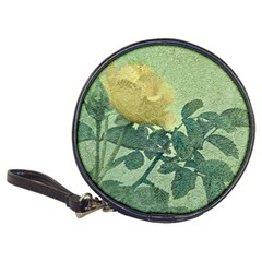 Yellow Rose Vintage Style  Cd Wallet by dflcprints