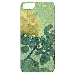 Yellow Rose Vintage Style  Apple Iphone 5 Classic Hardshell Case by dflcprints