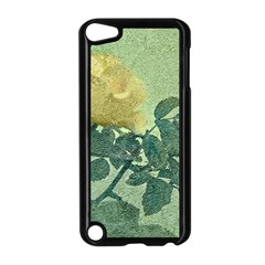 Yellow Rose Vintage Style  Apple Ipod Touch 5 Case (black) by dflcprints