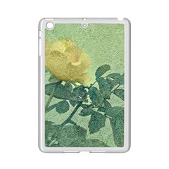 Yellow Rose Vintage Style  Apple iPad Mini 2 Case (White) by dflcprints