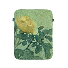 Yellow Rose Vintage Style  Apple Ipad Protective Sleeve by dflcprints