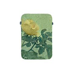 Yellow Rose Vintage Style  Apple Ipad Mini Protective Sleeve by dflcprints