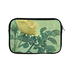 Yellow Rose Vintage Style  Apple Ipad Mini Zippered Sleeve by dflcprints