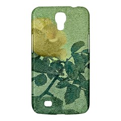 Yellow Rose Vintage Style  Samsung Galaxy Mega 6 3  I9200 Hardshell Case by dflcprints