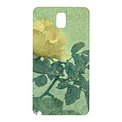Yellow Rose Vintage Style  Samsung Galaxy Note 3 N9005 Hardshell Back Case