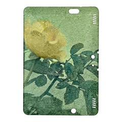 Yellow Rose Vintage Style  Kindle Fire Hdx 8 9  Hardshell Case by dflcprints