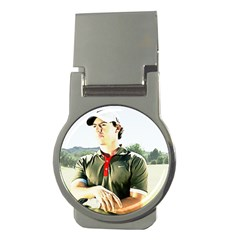 Rory Mcilroy Money Clip (round) by Cordug