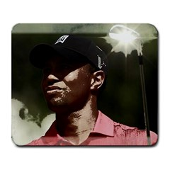 Tiger Woods Png Large Mouse Pad (rectangle) by Cordug