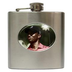 Tiger Woods Png Hip Flask by Cordug