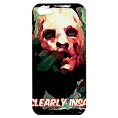 Bloody Face  Apple Iphone 5 Hardshell Case by Cordug