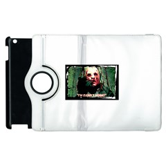 Bloody Face  Apple iPad 2 Flip 360 Case by Cordug
