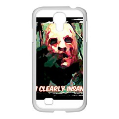 Bloody Face  Samsung Galaxy S4 I9500/ I9505 Case (white) by Cordug
