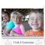 familycalendar 2015 - mom - Wall Calendar 11  x 8.5  (12-Months)