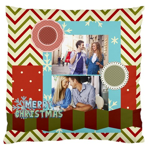 Xmas By Joy   Standard Flano Cushion Case (one Side)   8g43016fv59e   Www Artscow Com Front