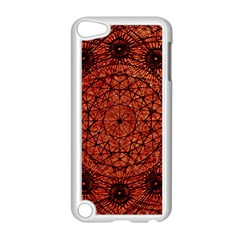 Grunge Style Geometric Mandala Apple Ipod Touch 5 Case (white) by dflcprints