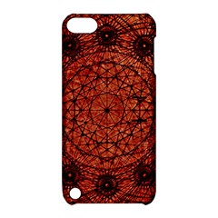Grunge Style Geometric Mandala Apple Ipod Touch 5 Hardshell Case With Stand by dflcprints
