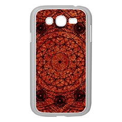 Grunge Style Geometric Mandala Samsung Galaxy Grand Duos I9082 Case (white) by dflcprints