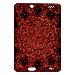 Grunge Style Geometric Mandala Kindle Fire Hd (2013) Hardshell Case by dflcprints