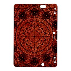 Grunge Style Geometric Mandala Kindle Fire Hdx 8 9  Hardshell Case by dflcprints