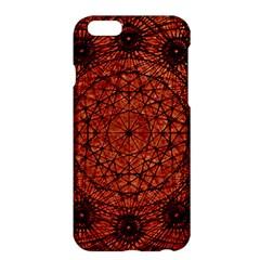 Grunge Style Geometric Mandala Apple Iphone 6 Plus Hardshell Case by dflcprints