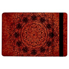 Grunge Style Geometric Mandala Apple Ipad Air 2 Flip Case by dflcprints
