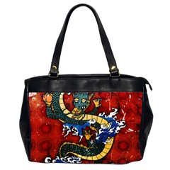 Dragon Oversize Office Handbag (two Sides) by UniqueandCustomGifts