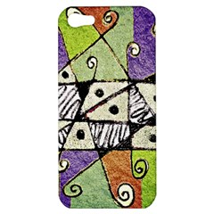Multicolored Tribal Print Abstract Art Apple Iphone 5 Hardshell Case by dflcprints