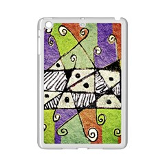 Multicolored Tribal Print Abstract Art Apple Ipad Mini 2 Case (white) by dflcprints